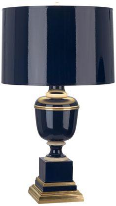 Mary McDonald Annika Cobalt and Natural Brass Table Lamp -