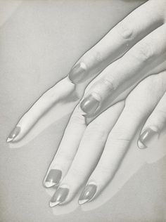 nail fashion    Mains, 1930  by Man Ray