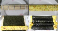 모르면 손해!!예쁘고 이색적인 김밥 12가지 종류 Appetisers, Korean Food, Asparagus, Food And Drink, Cooking Recipes, Vegetables, Studs, Korean Cuisine, Chef Recipes