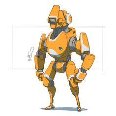285 2016 Orange you happy to see me?   #mech #mecha #robot #sketch  #quicksketch #sketcheveryday #sketchingisawesome #instaart #instaartist #cantstopdrawingbots #robotloversunite #sketchbookpro #autodesksketchbook #sketchbook