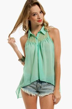 Izzie Laced Top $44