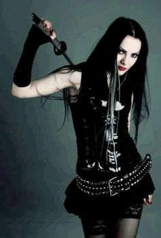 Goth Gothic girl ( Get your goth on with gothic punk clothing - a favorite repin of www.vipfashionaustralia.com )