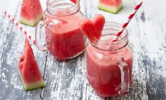 Hydrate And Alkalize Your Body With This Frosty Fruity Watermelon Smoothie