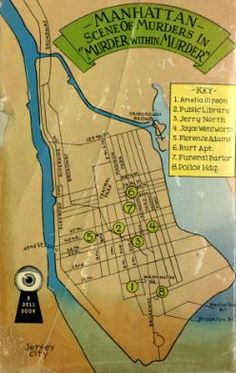 "Lockridge ""Murder Within Murder"" Dell Mapback #229; 1948 Bought 10/17/15 [back]"