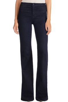 Flares // 2387 Tailored High-Rise Flare | J Brand
