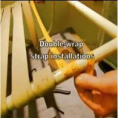 Double Wrap Vinyl Strap Replacements for Patio or Pool Furniture Repairs