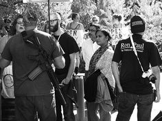 Choose your #weapon.  It was difficult as shit to get this shot mostly because every time I got into position set and framed a livestreamer kept getting into the shot with their selfie stick.  Open Carry Rally on Oct 25 2015 @ #KeinerPlaza #downtown.  #stl #stlouis #saintlouis #streetphotography #photography  #photo #walkabout #southcity #southstlouis #stlstreets #stlouisstreets #nofilter #stl #stlouis #saintlouis #streetphotography #photography  #photo #stlgram #stlouisgram #urban…
