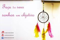 """Boa tarde! """"Faça dos seus sonhos um objetivo"""" #crochet #professorasimone #semprecirculo #sonhos #boatarde"""