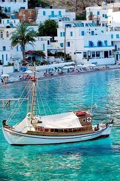 Greece Travel Inspiration - Loutro village, Crete Island