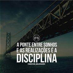 Seja disciplinado e assim realizará os seus sonhos.  Deus abençoe.  @el.magnifico_oficial  #CoracaoEmpreendedor #SigaEmFrente #DesistirJamais #VaiDarTudoCerto #ThanksGod #DeusNoComando #Fé #deus #jesus  #Amém #Negocios #sonhos #empreendedorismo #me #follow #like #empreender #sucesso #love #empresarios #instagood #sonho #sucess #selfie #selfi #motivation #millionaire #billionaire #açaimagnifico by joaodango