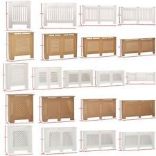 Radiator Cover Modern Traditional Wood Grill Cabinet White Unfinished Furniture