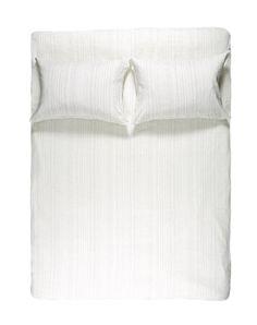 Blue Pinstripe Linen Duvet Covers / Pillows and Fitted Sheets - Yarn Dyed Linen Duvet, Duvet Bedding, Cheap Linens, Fitted Sheets, Yarn Colors, Bedding Collections, Natural Linen, Hand Sewing, Pillow Covers