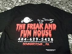 Haunted House || PA || Halloween || Horror|| The Freak and Fun House Halloween Attractions, Fun House, Halloween Horror, Home Goods, Graphic Sweatshirt, Household Items