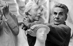 Gianni Berengo Gardin, Giuliano Vangi, Scultore, Pietrasanta, 1995