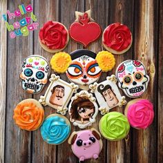 Book of Life cookies                                                                                                                                                                                 More