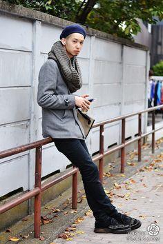 Tokyo men's street style