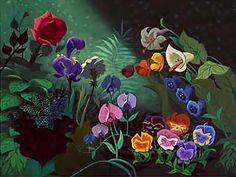 alice in wonderland photo backdrop
