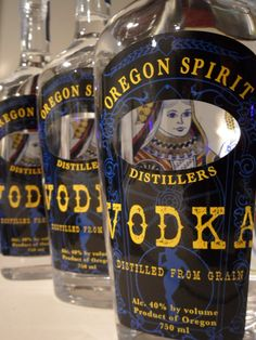 Oregon Spirit Distillers is a family operated distillery focusing on quality spirits that are produced with integrity and creativity. They practice sustainable operations using local ingredients whenever possible. #Bend #MicroDistillery #OregonSpirit