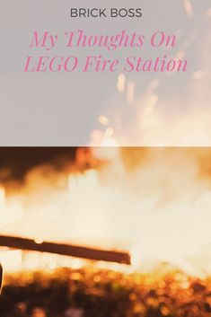 I love to talk about this LEGO set. Lego City Fire Station, Best Lego Sets, Lego Fire, Lego City Sets, Cool Lego Creations, Lego Building, Fire Trucks, My Favorite Things, Brick