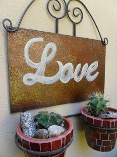 Portamacetas LOVE: Tienda Deco C