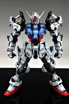 GUNDAM GUY: PG 1/60 GAT-X105 Strike Gundam - Painted Build. I really miss Gundam Wing.