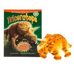 triceratops + triceratops (smithsonian prehistoric zone)