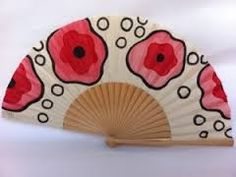 . Hand Fans, Hands, Ideas, Paintings, Painted Fan, Umbrellas, Flamingo, Hand Fan, Thoughts
