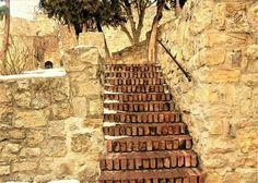 Kalemegdan's stairs