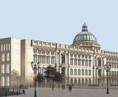 "BERLIN | City Palace Reconstruction (Stadtschloss) - ""Humboldt-Forum"" | U/C - SkyscraperCity"