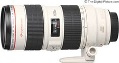 Canon EF 70-200mm f/2.8 L IS USM Lens....a girl can dream