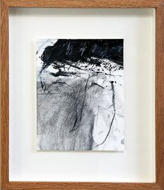 Framed work: Supu'm (The Spoon) (2012) Acrylic and charcoal on Watson paper 300g 154x125mm | Flickr : partage de photos !