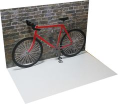 Bicycle Pop-up Card
