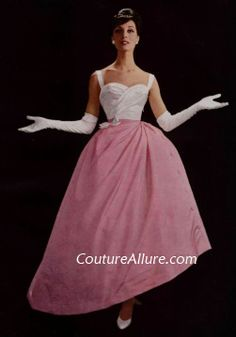 Couture Allure Vintage Fashion: Evening Gowns for Spring - 1959 Balmain