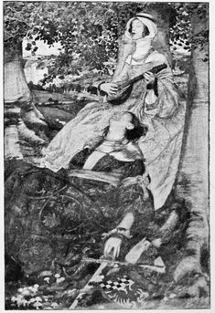 Uncounted Hours, by Eleanor Fortescue Brickdale, ROI, RWS 1871-1945