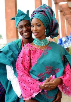 Nigerian Muslim Wedding BellaNaija Yoruba Traditional Wedding Engagement PeacockTAP_5192