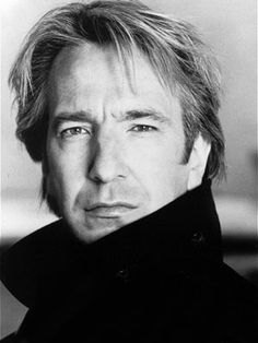 I like Alan Rickman because he's as old as dirt but still looks pretty good. Meanwhile I'm 23 and starting to go gray. So yeah. Hahaha.
