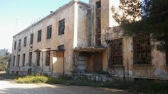 Abandoned Bread Factory in Athens Greece [3264x1840]