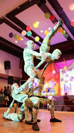 """Photo 7 of 24: Carnival/Circus / Birthday """"Manu's Cirque de Soleil"""" 