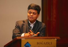 The Role of Sustainable Cities as Drivers of Global Transformation |Aromar Revi at Boğaziçi University in Turkey – a great thinker and speaker