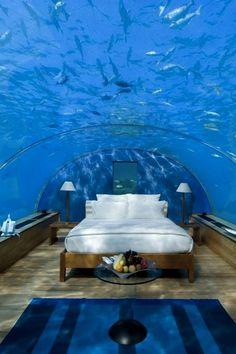 Underwater hotel, Dubai! Amazing! <3