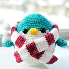 http://wixxl.com/snuggles-the-penguin/ Snuggles the Penguin Amigurumi