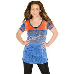Touch by Alyssa Milano New York Islanders Women's The Coop V-Neck T-Shirt