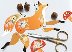 Instant Digital Download DIY Articulated Paper by crazyfoxpaper, $4.00