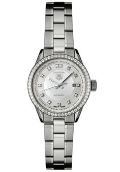 Tag Heuer WV2413.BA0793 Watches,Women's Carrera Automatic Diamond Stainless Steel, Women's Tag Heuer Automatic Watches