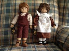 Heidi Ott dolls.  Felix and Ines