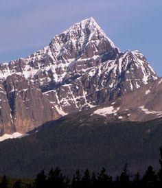 Peaks of the Canadian Rockies