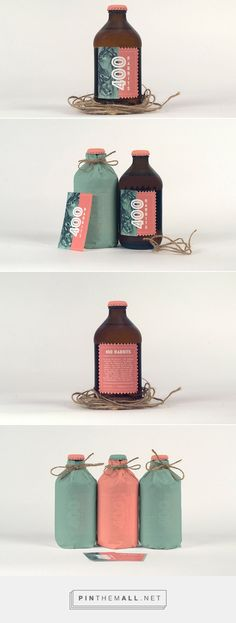 400 Rabbits is a packaging project for a brand of Mexican alcohol called pulque. Designed by: Brandon Gratton