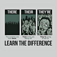 Nothing better than zombie grammar. Teaching Memes, Teaching Grammar, Teaching Writing, Teaching Tools, Teaching English, Teaching Ideas, Writing Tips, Writing Process, Writing Workshop