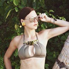MOEVA bikini available on MOEVA.COM  #moeva #moevalondon #london #love #loveit #style #ootd #like #model #luxury #luxurylife #celeb #beach #sea #summer #cool #sexy #bikini #onepiece #fit