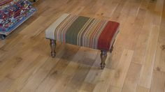 Hand Made Ankara Kilim Stool from India. Length: 68.0cm by Width: 46.0cm. Only £425 at https://www.olneyrugs.co.uk/shop/kilims-for-sale/indian-ankara-20403.html    View our charming collection of Persian carpets, kilim ottomans and Kilim cushions at www.olneyrugs.co.uk